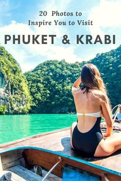 20 PHOTOS TO INSPIRE YOU TO VISIT PHUKET & KRABI - Looking for travel destinations to add to your bucket lists? Take a look at these 20 photos that will inspire you to visit beautiful Thailand - Land of the endless indulgences  tropical fruits, breathtak