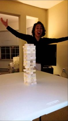 Redditor DKBobby recently posted a video on YouTube of their sister-in-law pulling off an epic move while playing Jenga. With a quick karate chop, she was able to knock out the bottom brick without knocking over the tower.