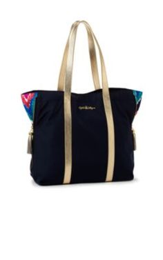 Shopper Tote - Lilly Pulitzer-True Navy