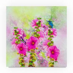 Ata Alishahi 'Flowers Explosion ' Canvas Art