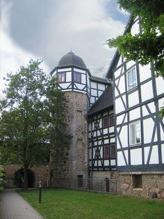 Treppenturm Schloss #Ermschwerd-Witzenhausen, Deutschland