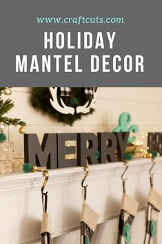 i am so ready for new holiday mantel decor what says christmas spirit more than