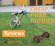 cheap push mowers
