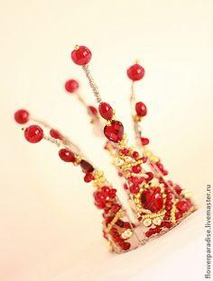 """Диадемы, обручи ручной работы. Ярмарка Мастеров - ручная работа Корона  """"Скарлетт"""". Корона для принцессы. Handmade."""