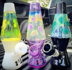 MATHEMATIX - LAVA LAMP WATER #PIPE  Would be nice to #medicate with this. #Cannabis cures!