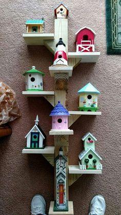 Multi level birdhouses  Hometalk