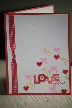 Easy Handmade Valentines Card video madigan made  Cards