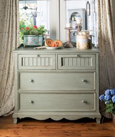 Universal Furniture - Paula Deen Home - Small Chest in Spanish Moss, available at Furnitureland South.