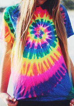 Unicorn Tie Dye T shirt – Fresh-tops.com