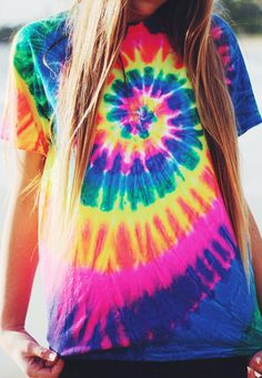 Unicorn Tie Dye T shirt – Fresh-tops.com