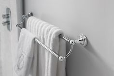 The ultimate in luxury interior styling - Belgravia towel rail from Crosswater Bathrooms UK. http://www.crosswater.co.uk/product/accessories-finishing-touches-browse-by-range-belgravia/belgravia-towel-rail-bl028c/