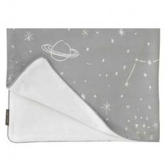 DwellStudio Stroller Blanket – Galaxy Dove