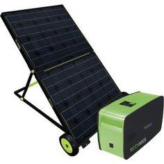1,800-Watt Plug and Play Portable Solar Power Generator-87530 at The Home Depot