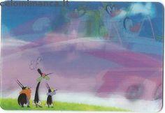 Oggy e i maledetti scarafaggi: Fronte Figurina n. 220 -