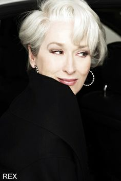 Merryl Streep  (I know she's already on this board, but I LOVE this photo of her)