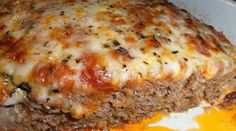 This is an Absolutely Delicious Italian Meatloaf that combines Ground Beef and Ground Sausage. ground mild Italian sausage 1 small onion, finely chopped C. chopped bell pepper (I used orange, it Ww Recipes, Italian Recipes, Cooking Recipes, Delicious Recipes, Simply Recipes, Cooking Chef, Recipies, Cooking Ideas, Recipes Using Italian Sausage