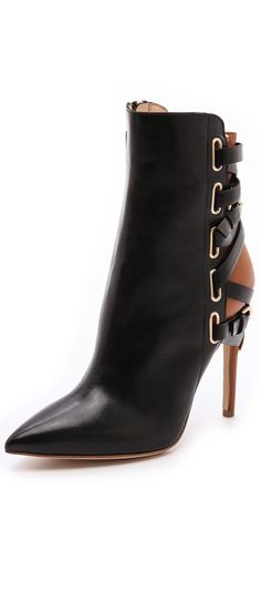 Jerome C Rousseau Jiro Leather Booties