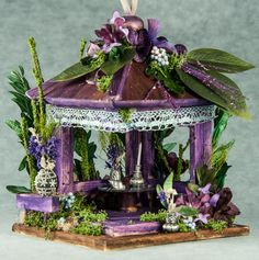 Gardner's cottage fairy house