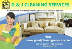 Highly satisfied cleaners for a variety of businesses  Looking for flexible House Cleaning Service Hollywood? G and J Cleaning service treats your business and they clean Commercial and residential building and office buildings and more. For more info call: 818-810-8773 Visit: www.gandjcleaningservices.com