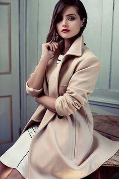 Jenna Coleman: McQ by Alexander McQueen