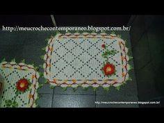 Jogo de Banheiro Juh Medina, tapete do lavabo, 1ª parte - YouTube