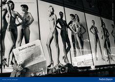 """""""Eine Zeitung kann sehr erotisch sein."""" Was könnte den weltberühmten Fotografen Helmut Newton mehr interessieren als nackte Frauen? Eine Zeitung! Nicht irgendeine, sondern die F.A.Z. © Frankfurter Allgemeine Zeitung (FAZ) http://www.faz.net"""