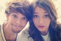 Eleanor Calder and Louis Tomlinson ( they are so cutsies together )