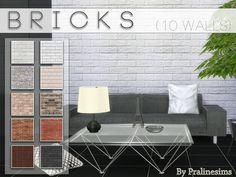 Pralinesims' Bricks http://www.thesimsresource.com/downloads/details/category/sims4-sets-wallsfloors/title/bricks/id/1300625/