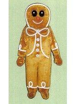 Mascot costume #FC22-Z Gingerbread Boy