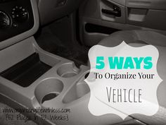 Organizing Life with Less: 52 Places In 52 Weeks: Vehicles