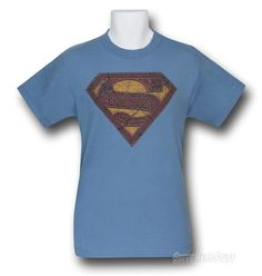 Superman T-Shirt Celtic Logo