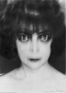 """Women of the world today dress alike.  They are like so many loaves of bread.  To be beautiful one must be unhurried.  Personality is needed.  There is too much sameness.  The world seems only to have a desire for more of this sameness.  To be different is to be alone.""    Marchesa Luisa Casati   Photograph by Man Ray"