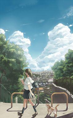 T-POCKETさんの曲にイラスト描かせていただきました!【http://www.nicovideo.jp/watch/sm17710504】動画の中から一枚。 ◆いろいろ妄想してドキドキしながら