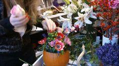 Ako si vyrobiť kvetinovú tekvicu