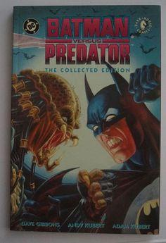 Batman Versus Predator: The Collected Edition (Dark Horse Comics) (Englisch) Taschenbuch - 1993 / Third Printig. Sprache: Englisch! (...) Dark Horse Comics, Batman Versus, Dave Gibbons, Predator, Third, Comic Books, Horses, Art, Movie
