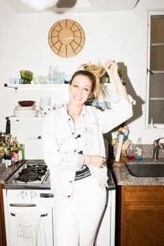 At Home with Our New Favorite Hadid Sister. @thecoveteur