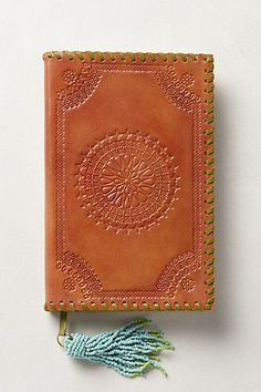 Embossed Leather Journal #anthrofave