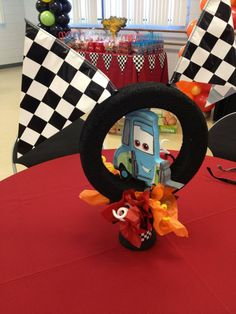 #cars center piece