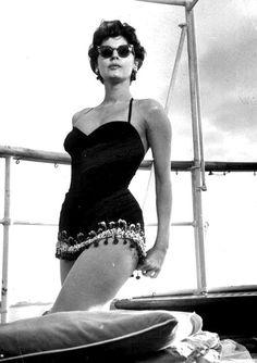 Ava Gardner as, The Barefoot Contessa.