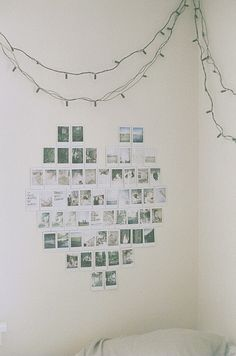 Hang your favourite photos using painters tape, it's safe for dorm room walls! #Humbercollege