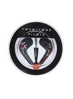 twenty one pilots ear buds from hot topic  -/ twenty one pilots merchandise