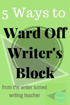 5 ways to ward off and stop writer's block for creative writing // Teetering On Wisdom Writing Websites, Writing Strategies, Writing Resources, Writing Advice, Teaching Resources, Fiction Writing, Writing A Book, Writing Prompts, Creative Writing Inspiration