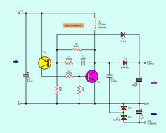 Small appliances have microcomputer that requires power supply. Why it can use only battery? The to boost converter circuit inside them. Electronics Basics, Electronics Projects, Basic Electronic Circuits, Simple Circuit, Dc Dc Converter, Micro Computer, Circuit Diagram, Wire, Small Appliances