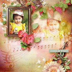 Collections :: S :: Sounds of Spring by WendyP Designs and Designs by Brigit :: Sounds of Spring Digital Scrapkit