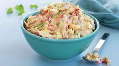 Kremet kyllingsalat Pasta Salad, Potato Salad, Nom Nom, Good Food, Dinner Recipes, Food And Drink, Cooking Recipes, Lunch, Homemade