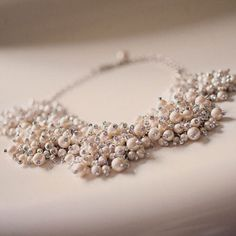 Kate Spade necklace; Photo by Blaine Siesser Photography #weddings