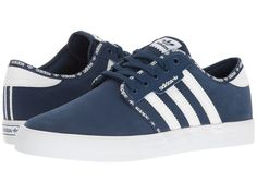 adidas Skateboarding - Seeley (Mystery Blue/White/White) Men's Skate Shoes  : · Athletic Shoe StoresAthletic ...
