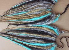 Rusty Steampunk dreads made by www.lustfullocks.com