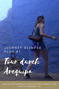 Walking Tour durch Arequipa und Santa Catalina in Peru Machu Picchu, Peru, Journey, Walking Tour, Youtube, Tours, Movies, Movie Posters, Arequipa