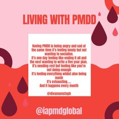 Mental Health Illnesses, Mental Health Awareness, Endometriosis, Pcos, Pmdd Symptoms, Premenstrual Dysphoric Disorder, Personality Psychology, My Demons, Te Amo